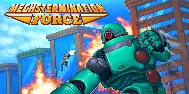 Mechstermination Force screenshot