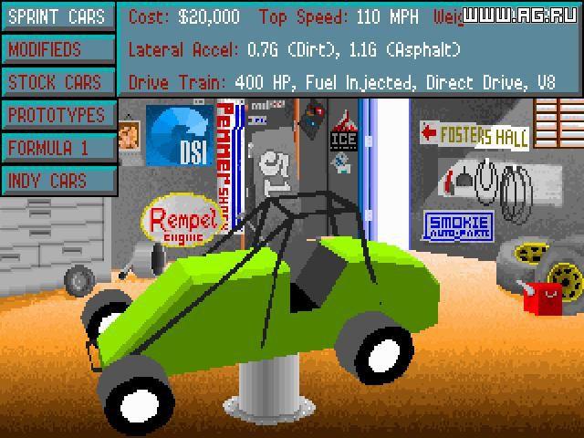 Mario Andretti's Racing Challenge screenshot