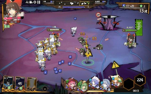 东方大战争 ~ Touhou Big Big Battle screenshot