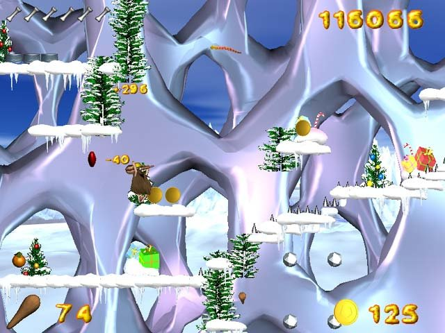 Caveman Adventures screenshot