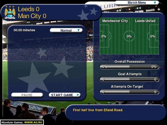 The Official Management Games screenshot