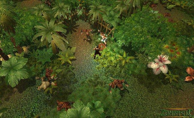 Zombasite Demo screenshot