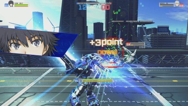 Toaru Majutsu no Virtual-On screenshot