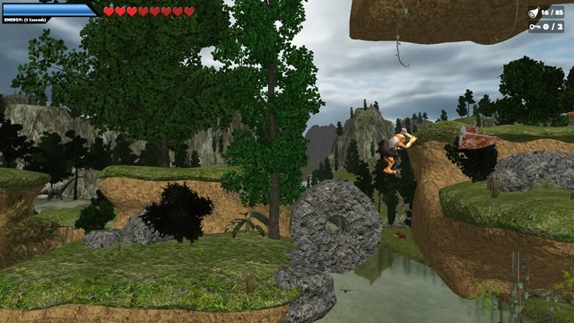 Caveman World: Mountains of Unga Boonga screenshot