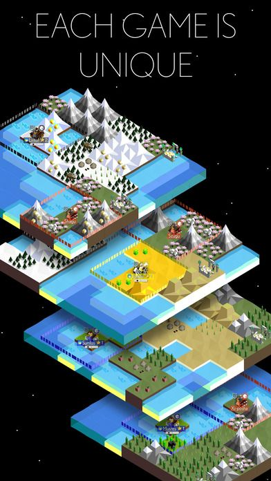 The Battle of Polytopia screenshot