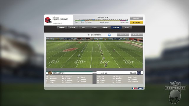 Front Page Sports Football screenshot