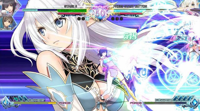 Blade Arcus from Shining: Battle Arena screenshot