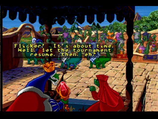 Blazing Dragons screenshot