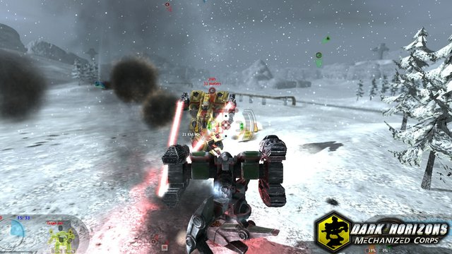 Dark Horizons: Mechanized Corps screenshot