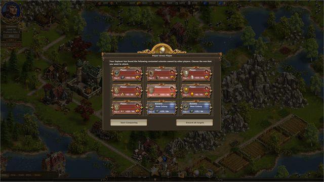 Settlers Онлайн, The screenshot