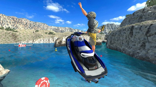Aqua Moto Racing Utopia screenshot
