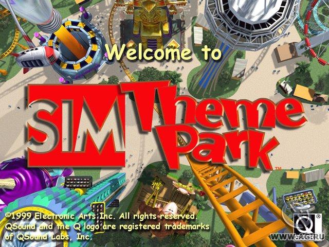 Sim Theme Park screenshot
