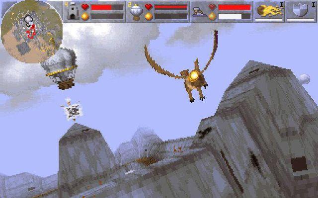 Magic Carpet 2: The Netherworlds screenshot