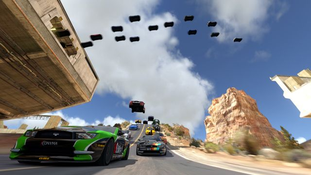 TrackMania² Canyon screenshot