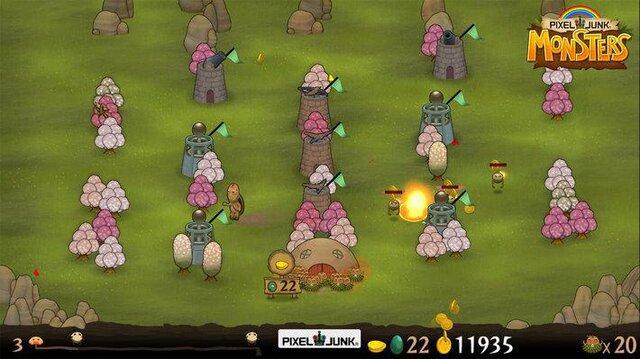PixelJunk Monsters HD screenshot