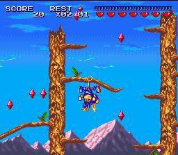 Sparkster screenshot