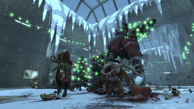 Painkiller: Hell & Damnation - Satan Claus screenshot