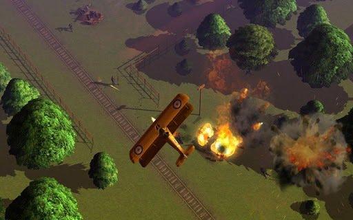 Cinemaware's Wings screenshot