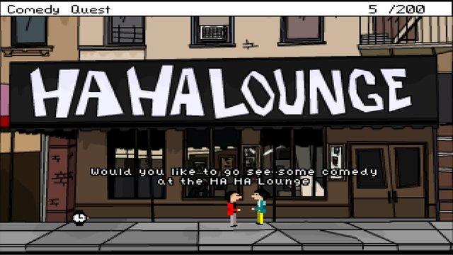 Comedy Quest screenshot