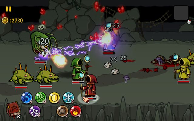 Magicka: Wizards of the Square Tablet screenshot