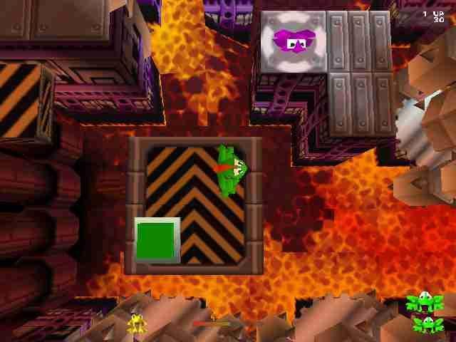 Frogger (1981) screenshot