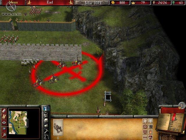 Firefly Studios' Stronghold 2 screenshot