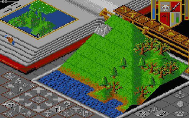 Populous screenshot