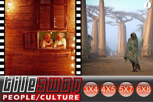 Tile Swap People of Culture screenshot