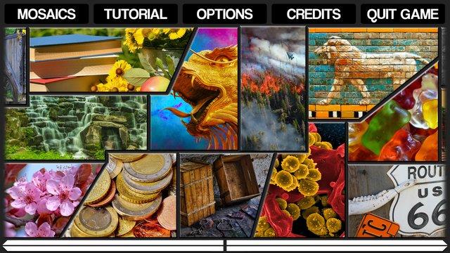 Pixel Puzzles Mosaics screenshot