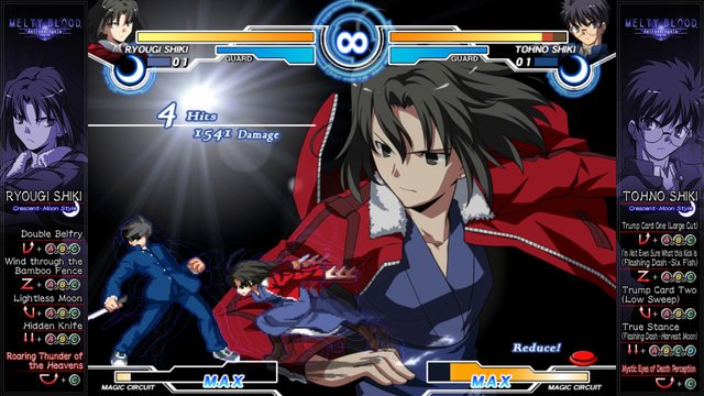 Melty Blood Actress Again Current Code screenshot