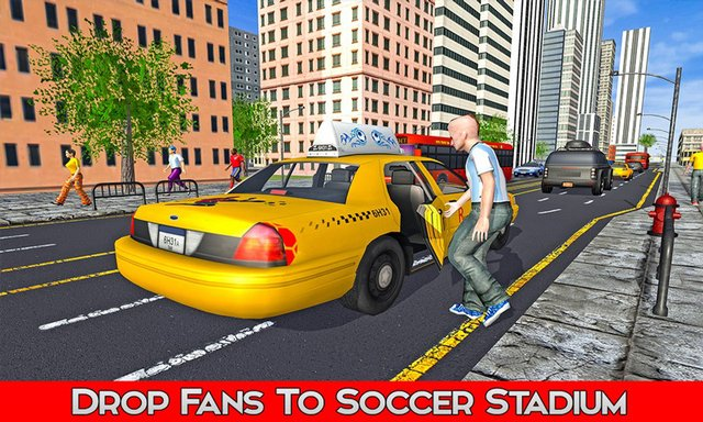 Taxi Service: Football World Cup 2018 screenshot
