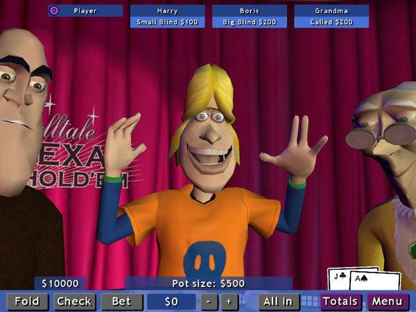 Telltale Texas Hold 'Em screenshot