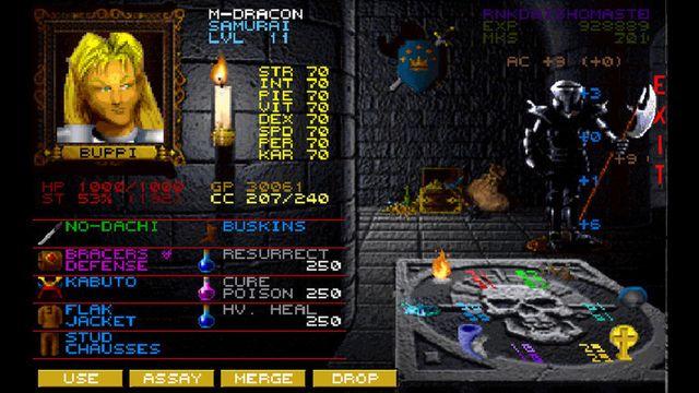 Wizardry 7: Crusaders of the Dark Savant screenshot