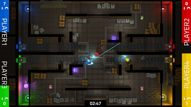 Slybots: Frantic Zone screenshot