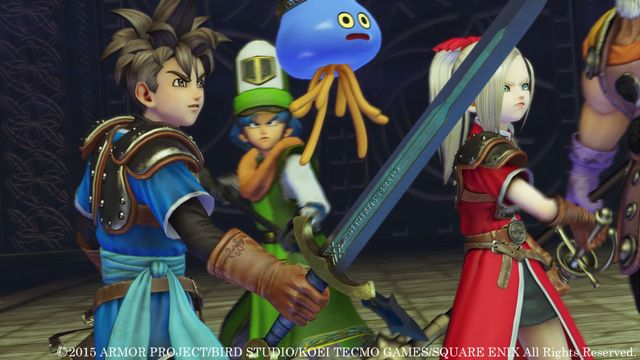 DRAGON QUEST HEROES Slime Edition screenshot