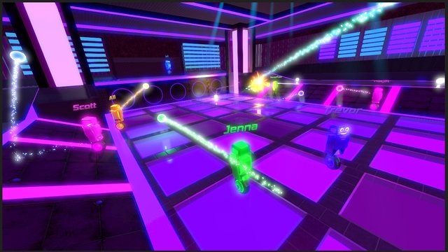 Robot Roller-Derby Disco Dodgeball screenshot