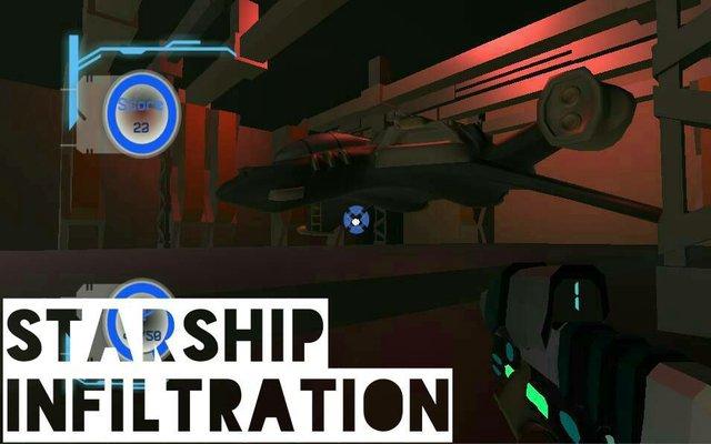 Starship Infiltration VR screenshot