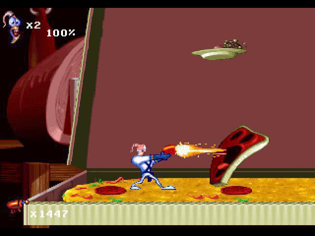 Earthworm Jim 1+2: The Whole Can 'O Worms screenshot