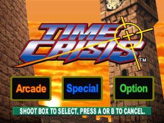 Time Crisis screenshot