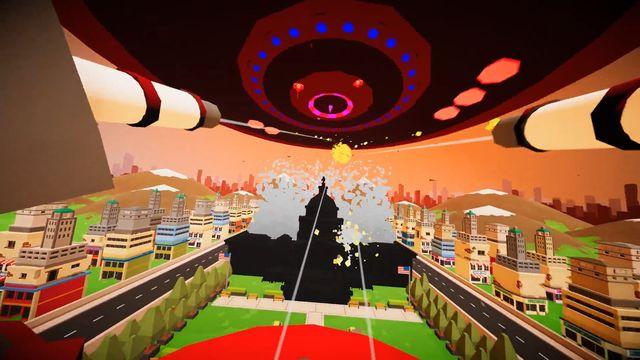 Planet Protector VR screenshot