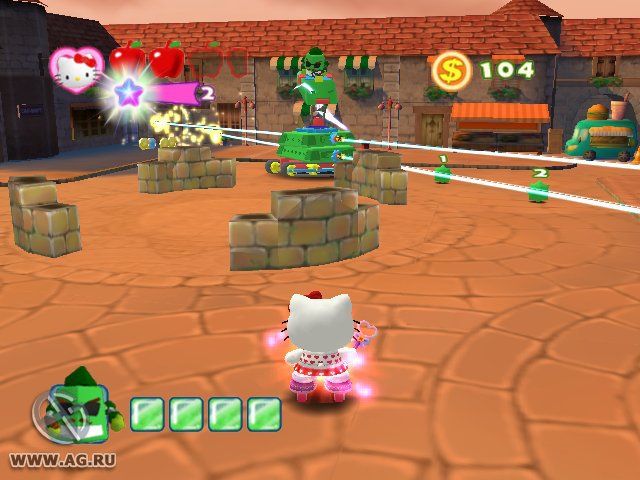 Hello Kitty: Roller Rescue screenshot