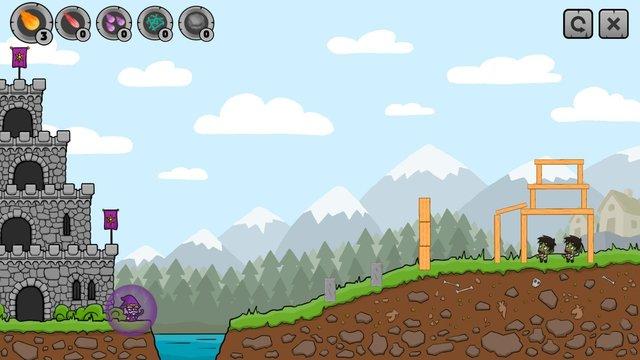 Merlin vs Zombies screenshot