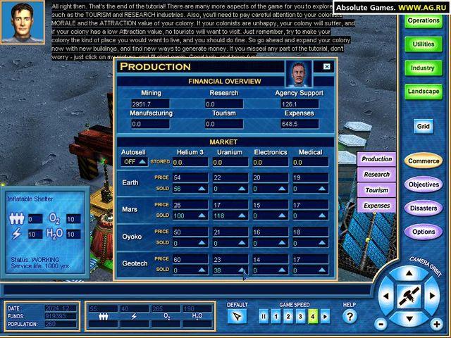 Moon Tycoon screenshot