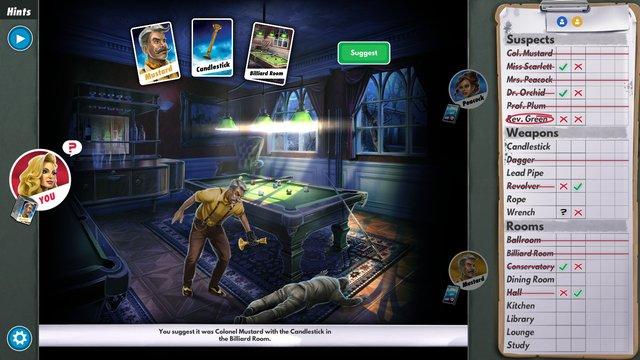 Clue/Cluedo: The Classic Mystery Game screenshot