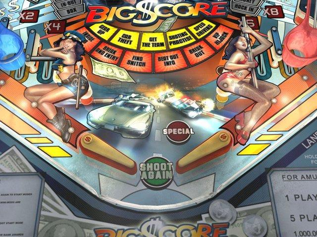 SlamIt Pinball Big Score screenshot
