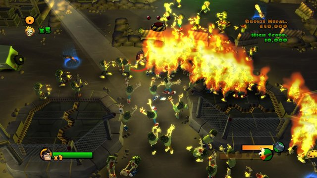 Burn Zombie Burn! screenshot