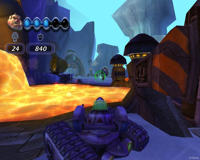 Disney's Chicken Little: Ace in Action screenshot