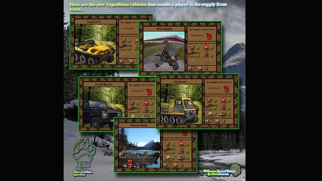 e-River Cabin Journal screenshot