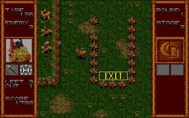 Gain Ground (1991) screenshot