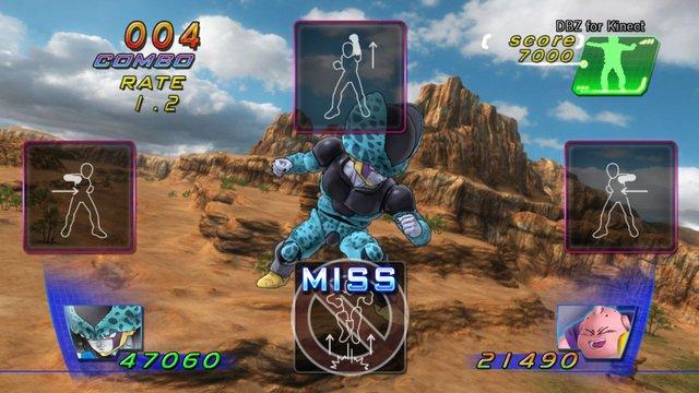 Dragon Ball Z for Kinect screenshot